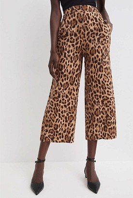 Witchery Printed Linen Pant