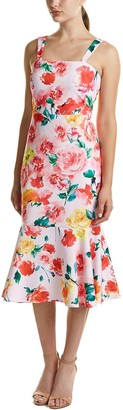 Laundry by Shelli Segal Women's Printed Midi Floral