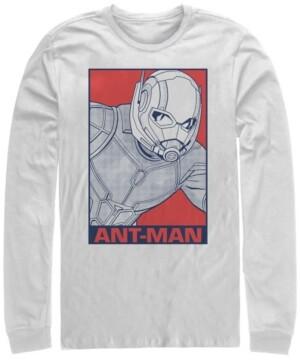 Marvel Men's Avengers Endgame Ant-man Pop Art Poster, Long Sleeve T-shirt