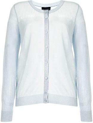 Emporio Armani Glitter Knit Cardigan