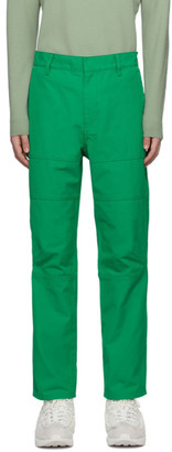 Ambush Green Panel Cargo Pants