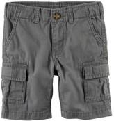 Carter's Baby Boy Solid Cargo Shorts