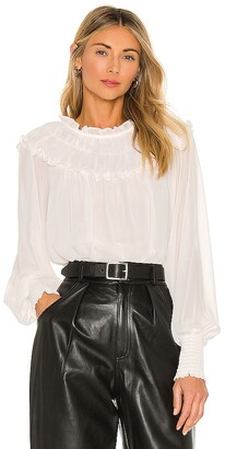 1 STATE Solid Gauze Blouse