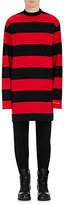 Vetements Men's Striped Cotton T-Shirt-RED