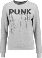 R 13 Punk printed cotton-jersey sweatshirt