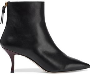 Stuart Weitzman Leather Ankle Boots
