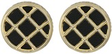 House Of Harlow Phoebe Caged Button Earrings