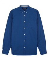 Jaeger Blue Gingham Shirt