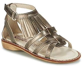 Citrouille et Compagnie RAVIPE girls's Sandals in Gold