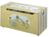 The Well Appointed House Teamson Design Hand Painted Toy Chest with Alphabet and Animals Theme