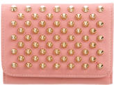 Christian Louboutin Spiked Compact Wallet