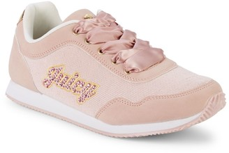 Juicy Couture Girl's Logo Lace-Up Sneakers