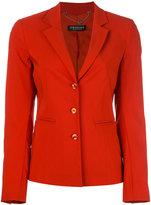 Twin-Set fitted blazer - women - Polyamide/Polyester/Spandex/Elastane/Viscose - 40