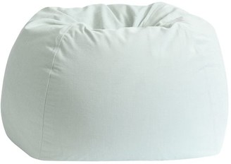 Pottery Barn Teen Recycled Blend Chenille Washed Pool Bean Bag Chair