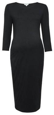 Dorothy Perkins Womens **Dp Maternity Black Bodycon Dress, Black