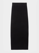 DKNY Pure Cashmere Midi Skirt