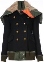 Sacai Oversized Collar Military Jacket