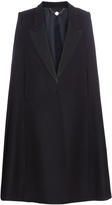 Stella McCartney Becker oversized tuxedo cape