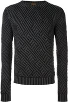 Tod's diamond knit sweater