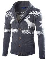 Deer Gary New Men's Fashion Sweater Christmas Cardigan Sweaters