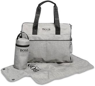 HUGO BOSS Logo Nylon Changing Bag
