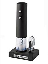 Wine Enthusiast Black Electric Corkscrew