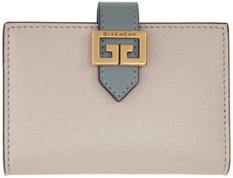 Givenchy Grey and Pink GV3 Card Case