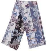 Kenzo Patterned Wool Scarf