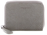 Liebeskind Berlin Snake Embossed Leather Coin Wallet