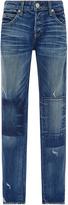 Amo Tomboy Patchwork Mid Rise Jeans