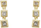 Tate Women's Princess-Cut White Diamond Strand Earrings