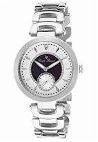 Lucien Piccard Women's LP-10268-22-BKA Casablanca Analog Display Quartz Silver Watch