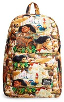 Loungefly Boy's Disney Moana Backpack - Brown