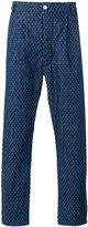 Sunnei spot pull thread trousers - men - Cotton - S