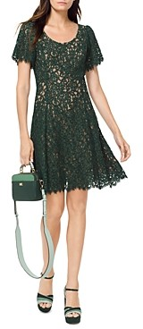 MICHAEL Michael Kors Corded Lace Short Sleeve Dress