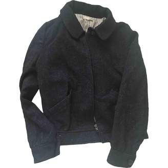 BA&SH Bash Anthracite Wool Leather jackets