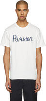 MAISON KITSUNÉ Ivory parisien T-shirt