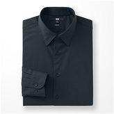 Uniqlo Men Easy Care Stretch Slim Fit Broadcloth Long Sleeve Shirt