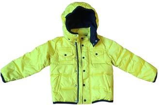 Gucci Yellow Synthetic Jackets & Coats