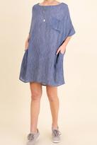Umgee USA Oversized Tee Dress