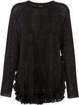 Simone Rocha frill trim blouse