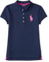 Ralph Lauren Big Pony Stretch Cotton Polo