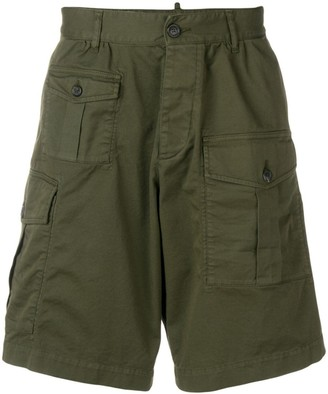 DSQUARED2 Deconstructed Cargo Shorts