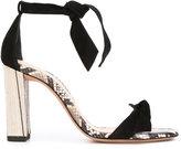 Alexandre Birman ankle tie sandals - women - Leather - 37