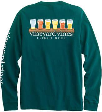 Vineyard Vines Flight Deck Long-Sleeve Pocket Tee