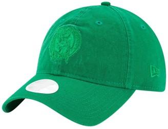 New Era Women's Kelly Green Boston Celtics Core Classic Tonal Team 9TWENTY Adjustable Hat