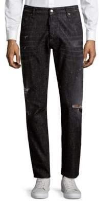 DSQUARED2 Skinny Embellished Jeans