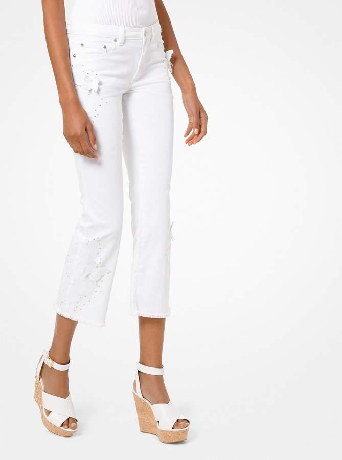 da8894d79cae7 MICHAEL Michael Kors Women's Cropped Jeans - ShopStyle