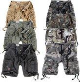 Surplus Men's Airborne Vintage Shorts Washed size 4XL