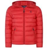 Ralph Lauren Ralph LaurenBoys Red Lightweight Padded Coat